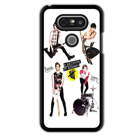 5 Seconds Of Summer And Tools TATUM-75 LG Phonecase Cover For LG G3, LG G4, LG G5 - tatumcase