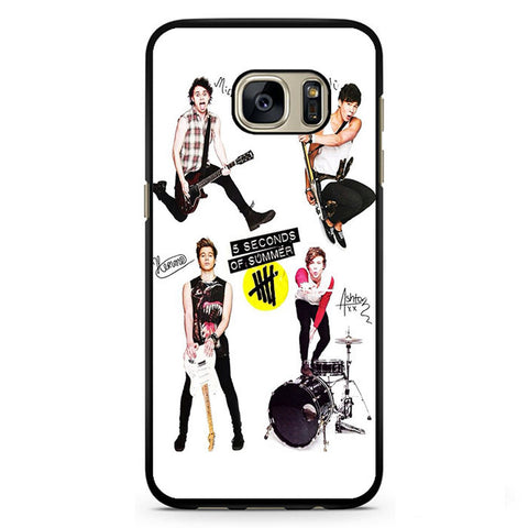 5 Seconds Of Summer And Tools TATUM-75 Samsung Phonecase Cover Samsung Galaxy S3, Galaxy S4, Galaxy S5, Galaxy S6, Galaxy S7