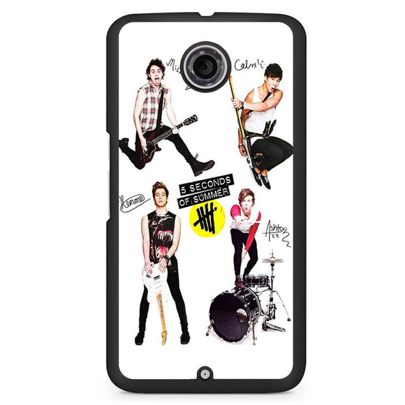 5 Seconds Of Summer And Tools TATUM-75 Google Phonecase Cover For Nexus 4, Nexus 5, Nexus 6 - tatumcase