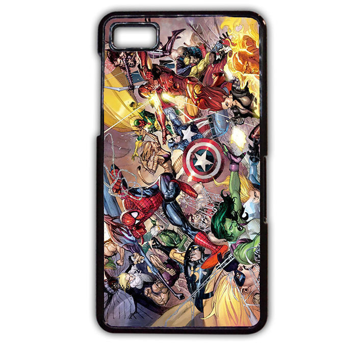 All The Avengers TATUM-618 Blackberry Phonecase Cover For Blackberry Q10, Blackberry Z10