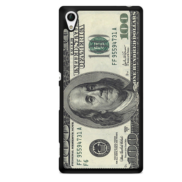 100 Dollars TATUM-03 Sony Phonecase Cover For Xperia Z1, Xperia Z2, Xperia Z3, Xperia Z4, Xperia Z5 - tatumcase