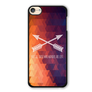 Wander Quote Phonecase Cover Case For Apple Ipod 4 Ipod 5 Ipod 6