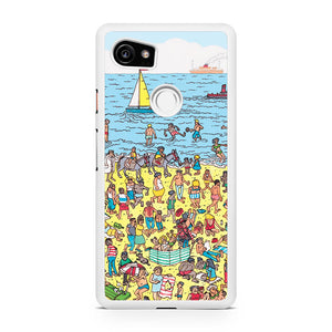 where is wally beach, Custom Phone Case, Google Pixel 2 XL Case, Pixel 2 XL Case, Tatumcase