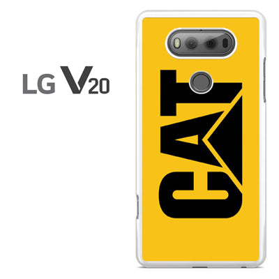 yellow caterpillar logo - LG V20 Case - Tatumcase