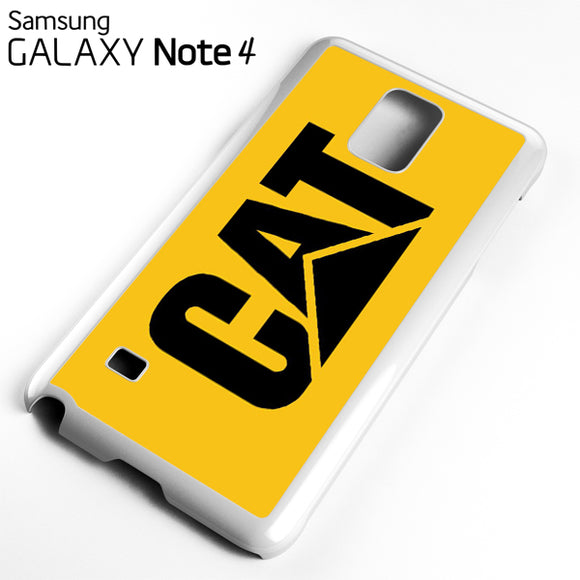 yellow caterpillar logo - Samsung Galaxy Note 4 Case - Tatumcase