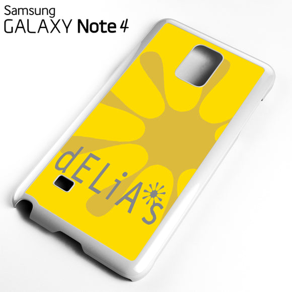 yellow delias - Samsung Galaxy Note 4 Case - Tatumcase