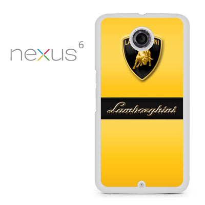yellow lamborghini - Nexus 6 Case - Tatumcase