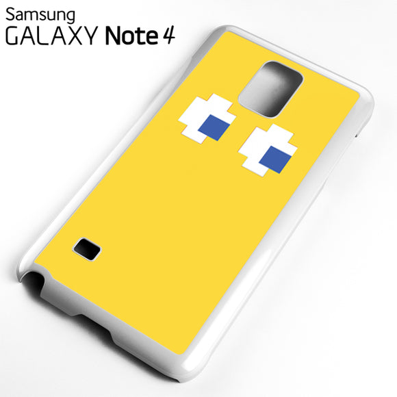 yellow pacman - Samsung Galaxy Note 4 Case - Tatumcase