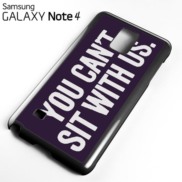 you cant sit with us dark purple - Samsung Galaxy Note 4 Case - Tatumcase