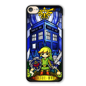 Zelda Tardis Phonecase Cover Case For Apple Ipod 4 Ipod 5 Ipod 6