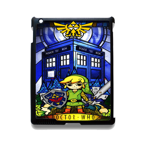 Zelda Tardis TATUM-12211 Apple Phonecase Cover For Ipad 2/3/4, Ipad Mini 2/3/4, Ipad Air, Ipad Air 2