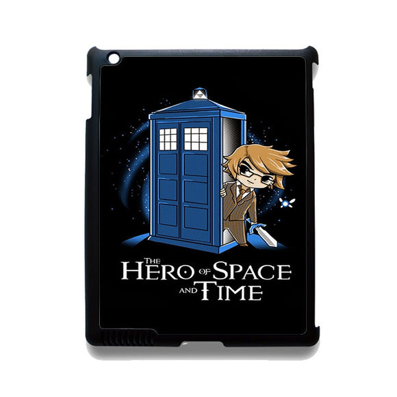 Zelda Tardis Hero Of Space And Time Phonecase Cover Case For Apple Ipad 2 Ipad 3 Ipad 4 Ipad Mini 2 Ipad Mini 3 Ipad Mini 4 Ipad Air Ipad Air 2
