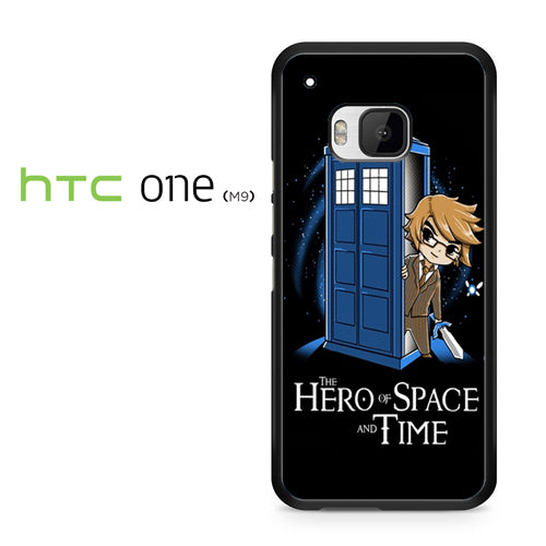 zelda tardis hero of space and time - HTC ONE M9 Case - Tatumcase