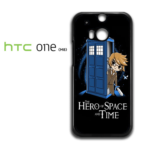 zelda tardis hero of space and time - HTC M8 Case - Tatumcase