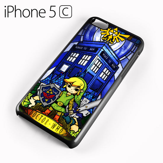 zelda tardis - iPhone 5C Case - Tatumcase