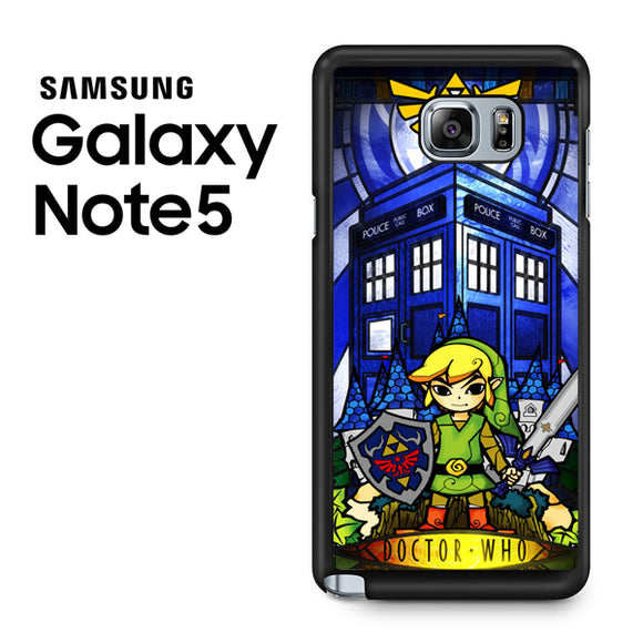 zelda tardis - Samsung Galaxy Note 5 Case - Tatumcase