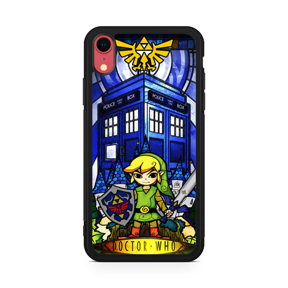 zelda tardis,Custom Phone Case, iPhone XR Case, Tatumcase