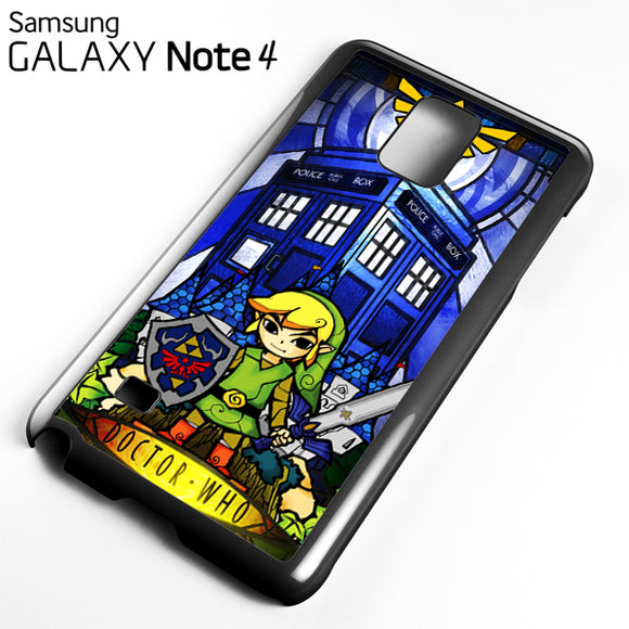 zelda tardis - Samsung Galaxy Note 4 Case - Tatumcase