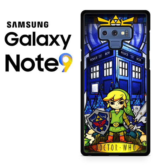 zelda tardis - Samsung Galaxy NOTE 9 Case - Tatumcase