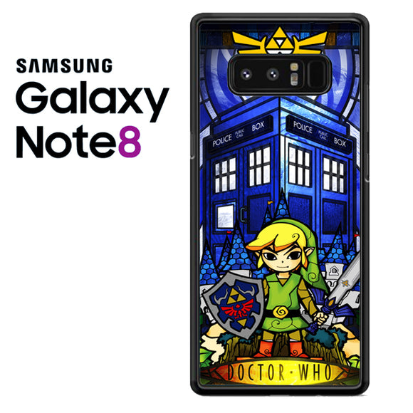 zelda tardis - Samsung Galaxy Note 8 Case - Tatumcase