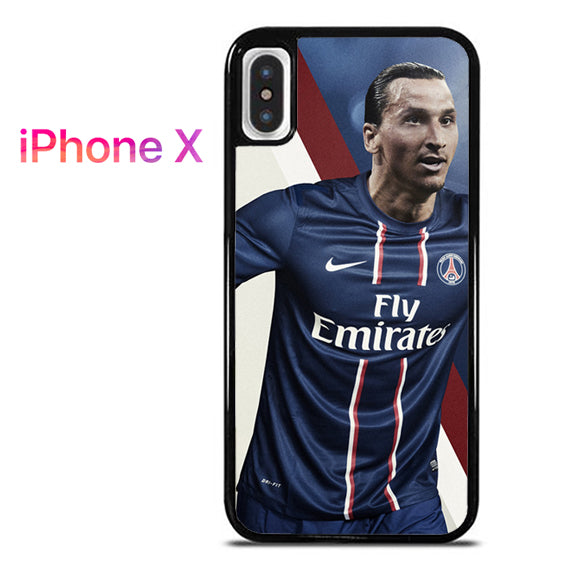 zlatan ibrahimovic - iPhone X Case - Tatumcase