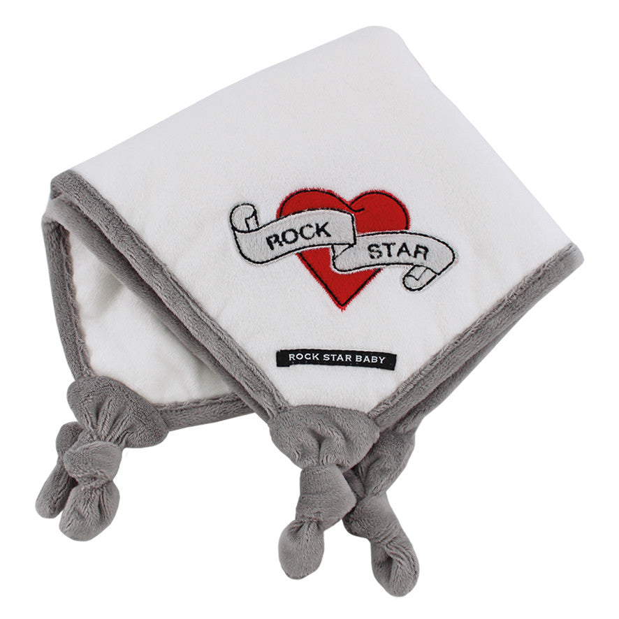 "Cuddle cloth ""Heart & Wings"""