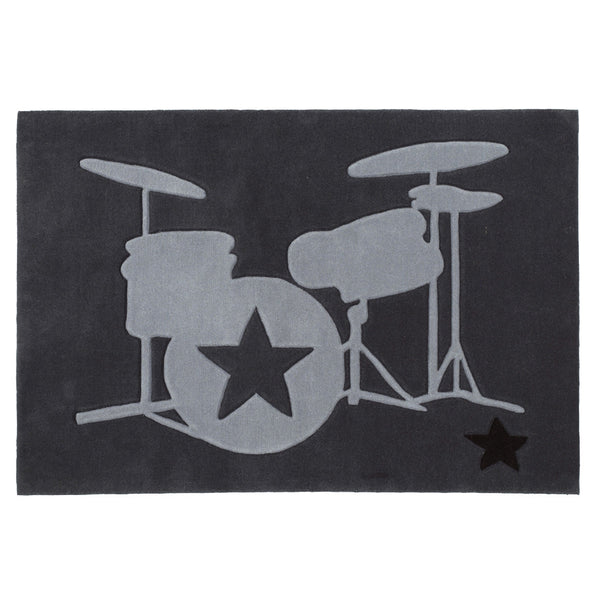 "Rock Star Rug ""Drums"""
