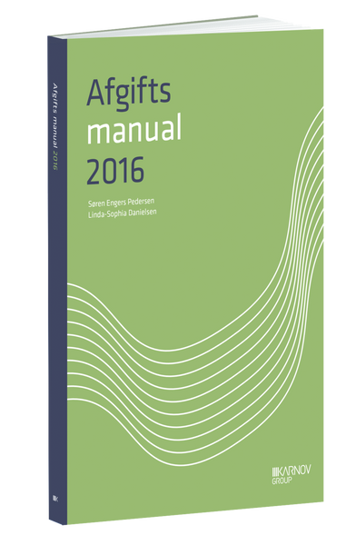 Afgiftsmanual 2016 - Karnov Group