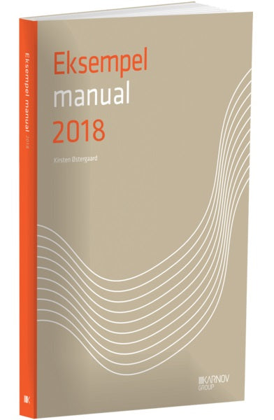 Manual: Eksempelmanual 2018
