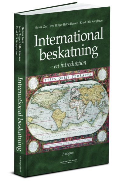Bog: International beskatning en introduktion