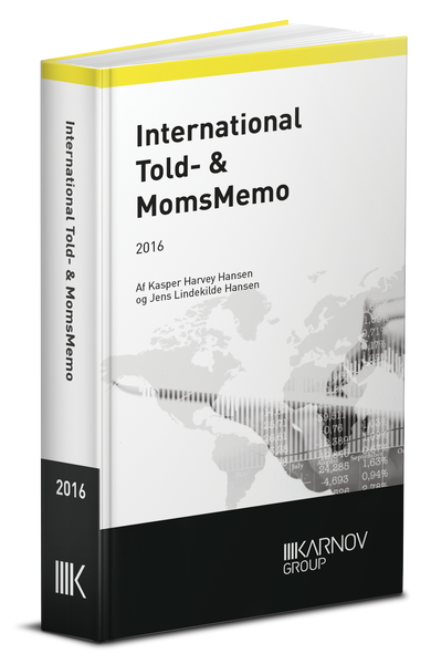 International Told & MomsMemo 2016 - Abonnement