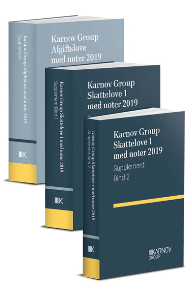 Bøger: Supplement til Karnov Group Skatte- og Afgiftslove 2019
