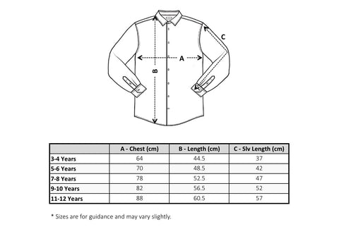 Laundry Tribe Dress Shirt Sizing Chart