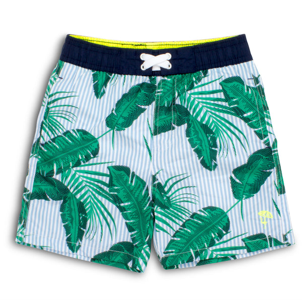 430e78e65b Shade Critters Botanical Swim Trunks | Boys Bathing Suits | CocoMingos