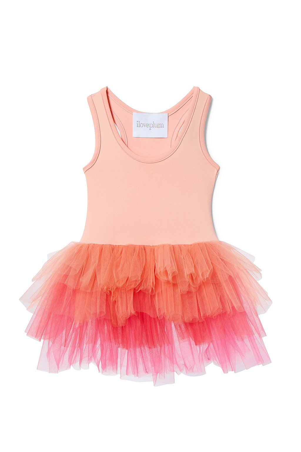 af5ab557a8 Plum Girls Tutu Dresses | Coral Tutu Dress | CocoMingos