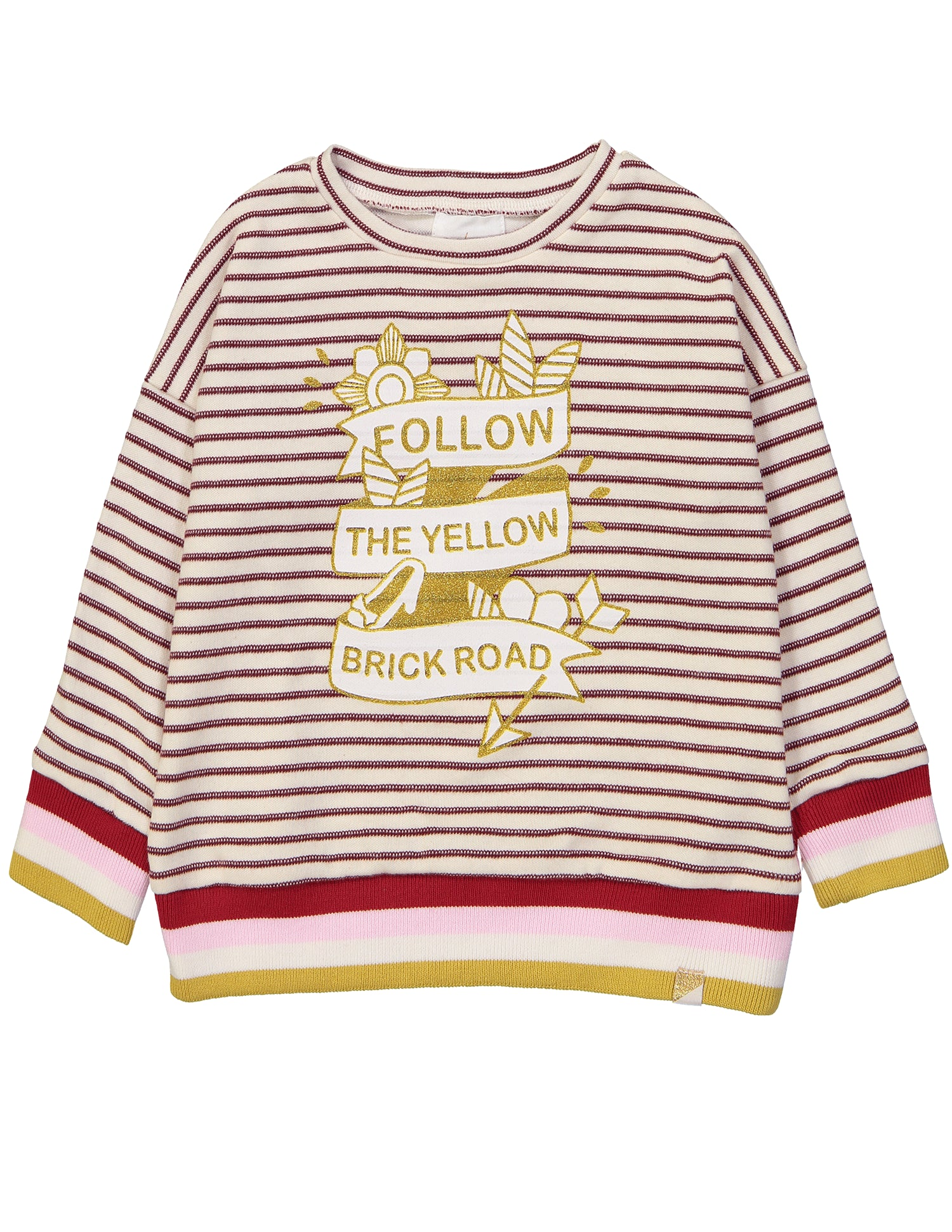 Yellow Brick Road Striped Sweater