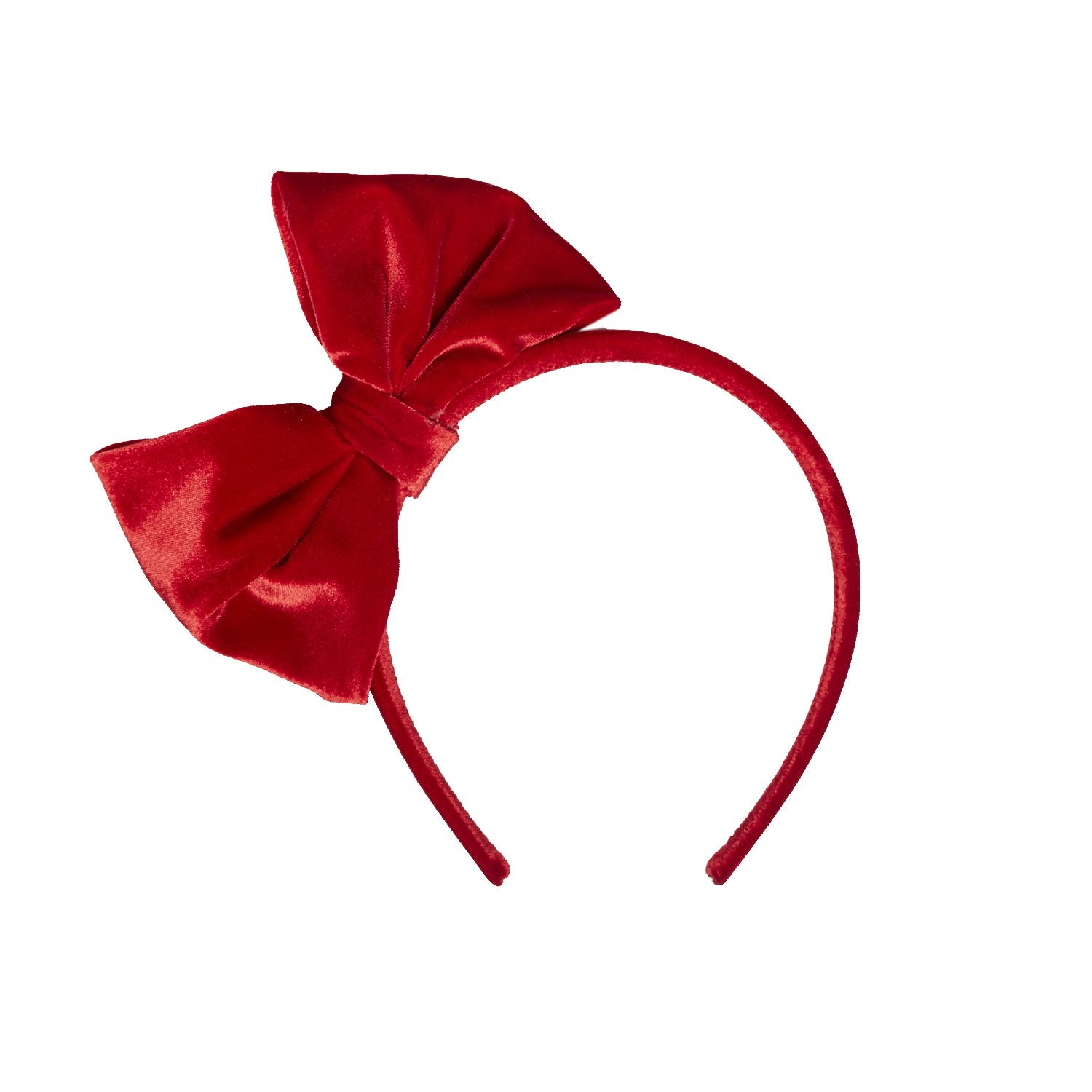Red Velvet Bow Headband  ad01b0277c1