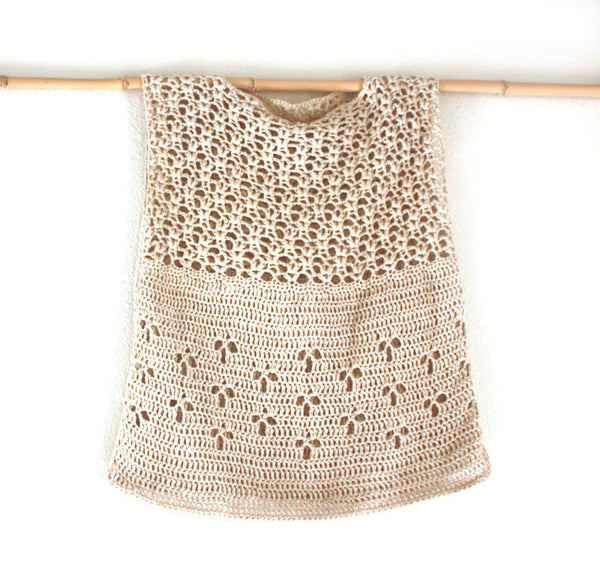 The Stevie Crocheted Tunic | Bohemian Dreams Collection