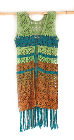 Tina Crocheted Vest | Bohemian Dreams Collection