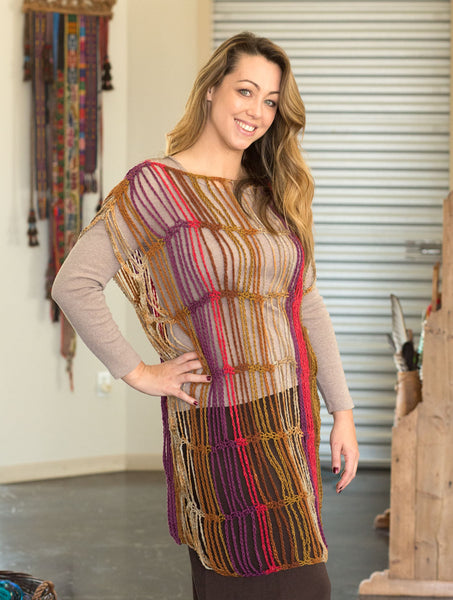 Laura Crocheted Tunic | Bohemian Dreams Collection