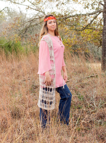 Ella Crocheted Vest | Bohemian Dreams Collection