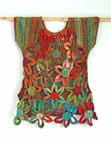 Bette Flower Crocheted Top | Bohemian Dreams Collection