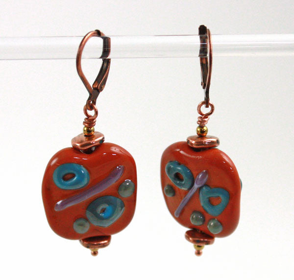 Sienna Graffiti Earrings | The Earring Collection