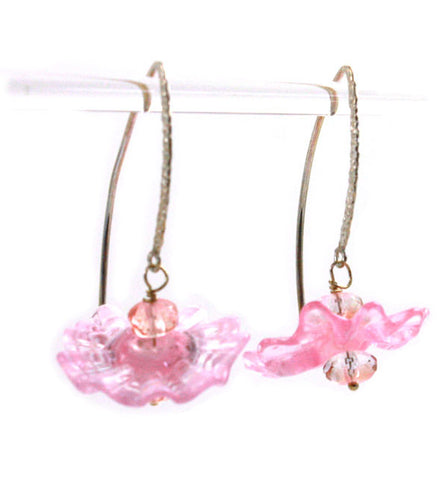 Pink Cactus Earrings | The Earring Collection