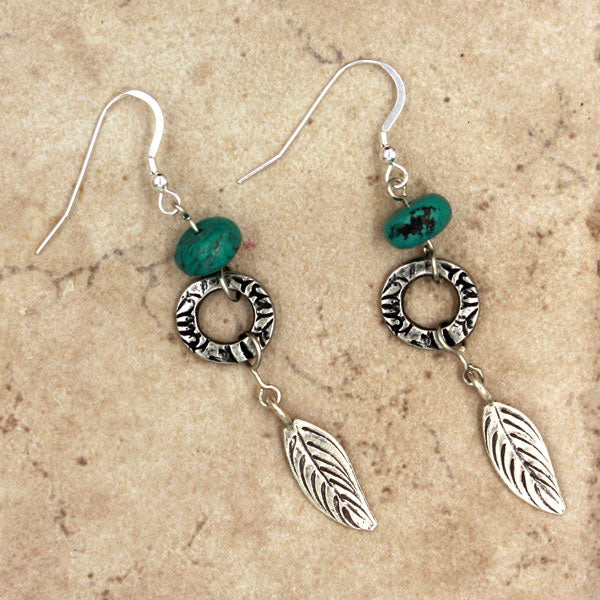 Drop Leaf Earrings | Bohemian Dreams Collection