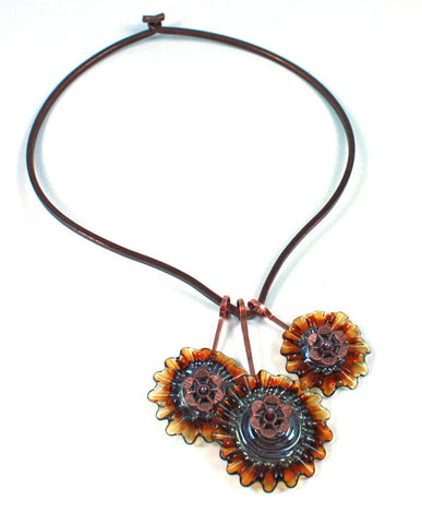 Small Jungle Flowers Necklace | The Pendant Collection