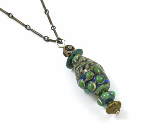 The Rain Forest Necklace | The Pendant Collection