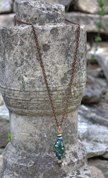Midnight in the Gulf Necklace | Ancient Treasures Collection