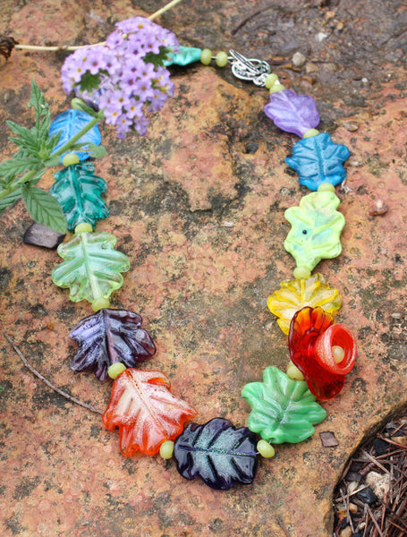 The Taos Leaves Necklace | Desert Blooms Collection