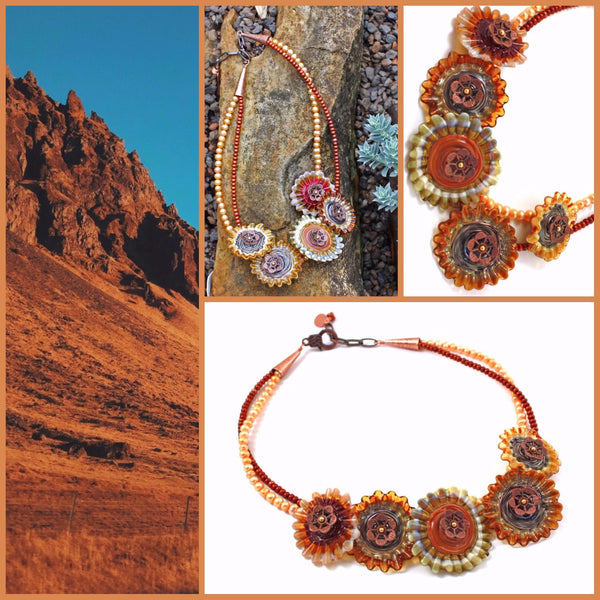 Summer in the Desert Necklace | Desert Blooms Collection